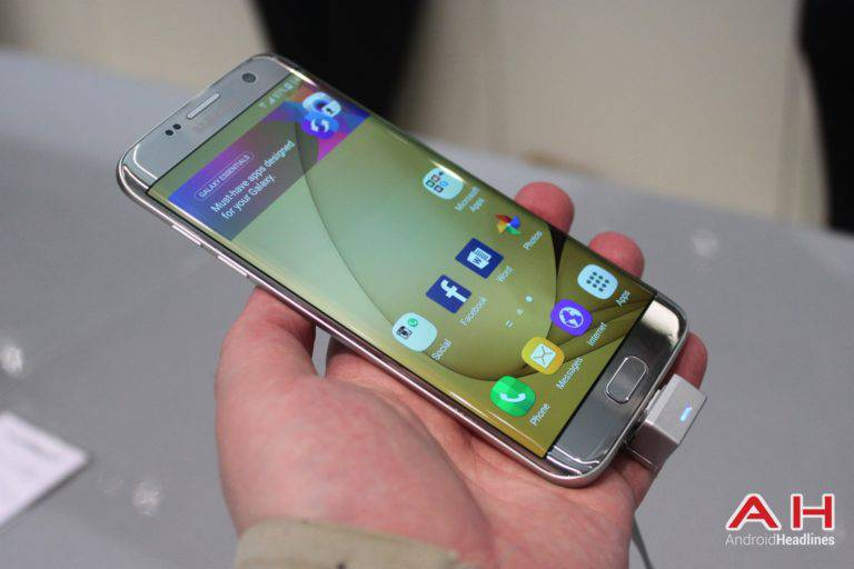 Galaxy S7 Edge MWC Booth AH 11