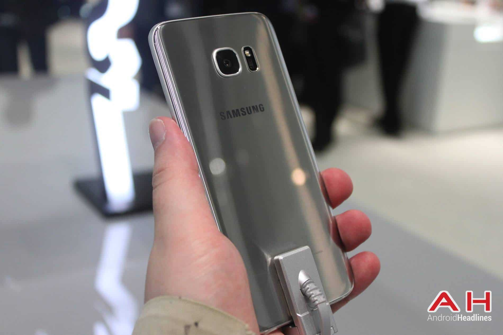 Galaxy S7 Edge MWC Booth AH 14