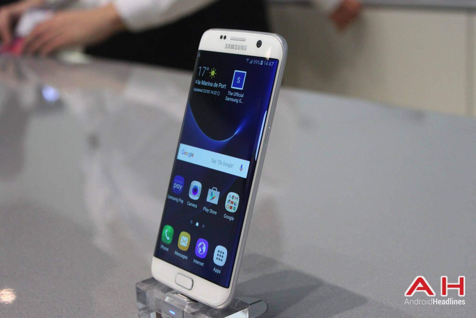 Galaxy S7 Edge MWC Booth AH 18