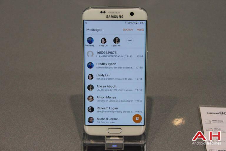 Galaxy S7 Edge MWC Booth AH 19