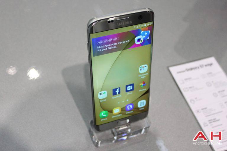 Galaxy S7 Edge MWC Booth AH 9