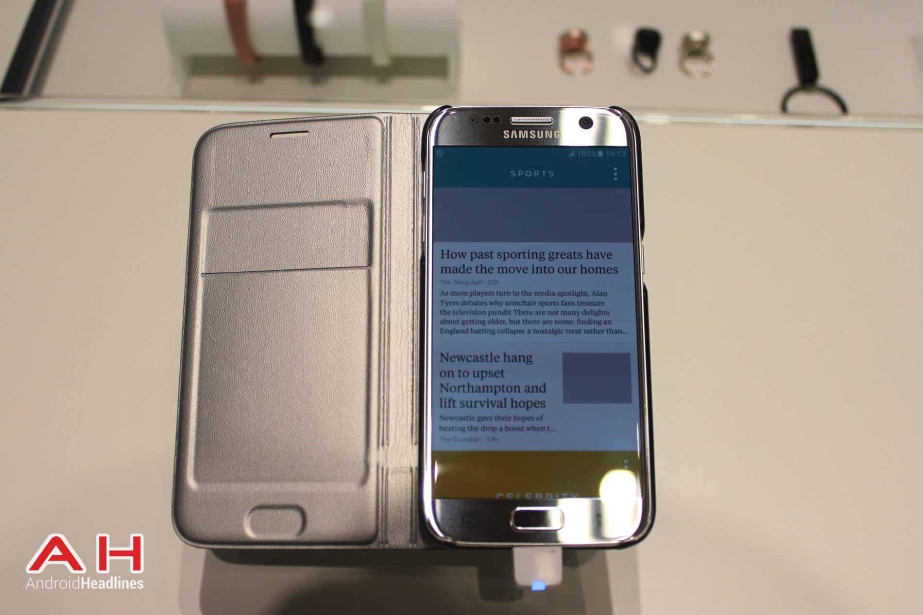 Galaxy S7 Flip Cover AH 1