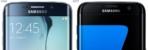Galaxy S7 vs S7 Edge pre release 1