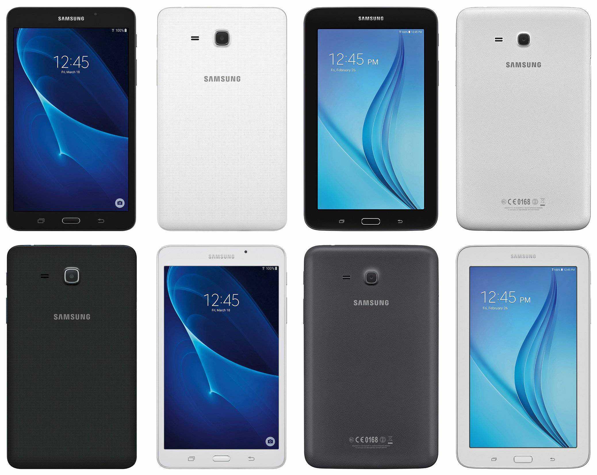 Galaxy Tab A 7.0 (2016) and Galaxy Tab E 8.0 (2016)