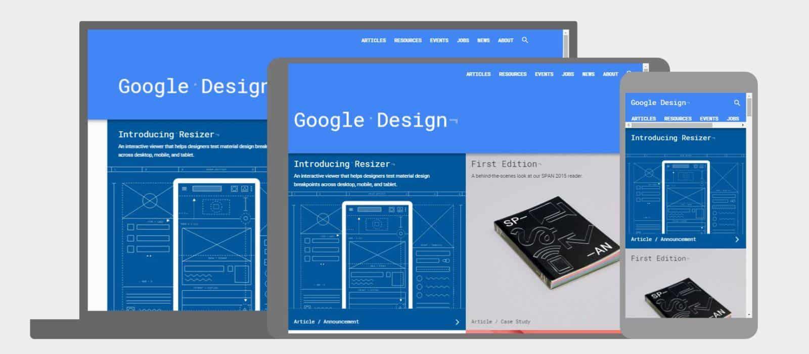 Google Design Resizer