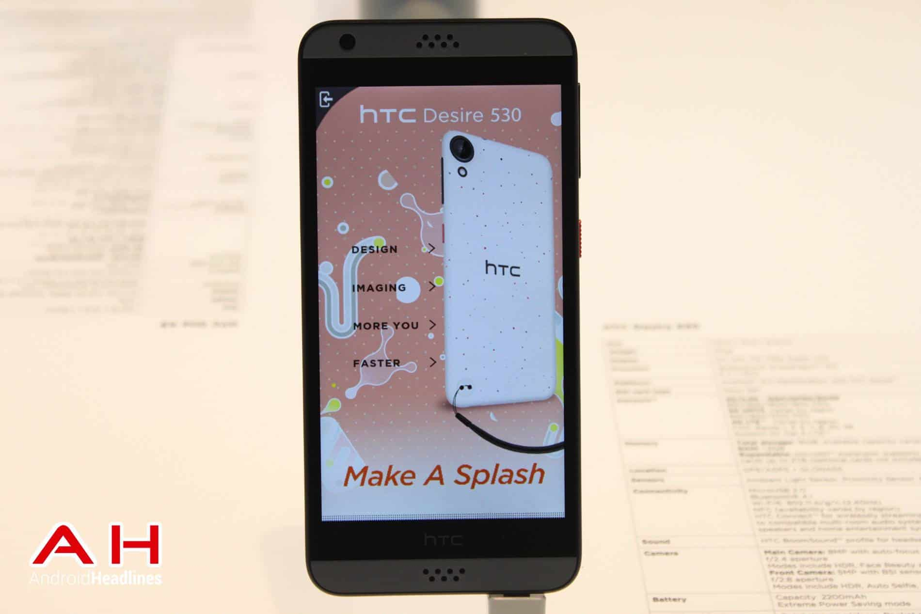 HTC Desire 530 MWC AH 13