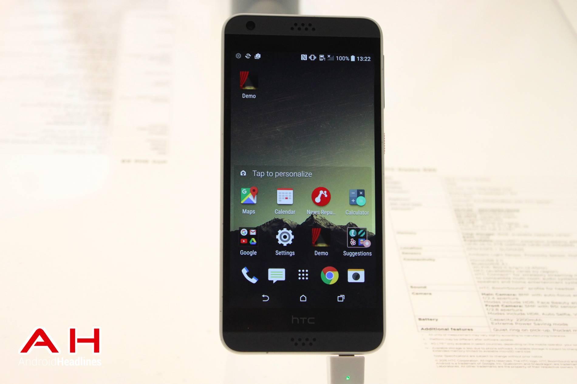 HTC Desire 530 MWC AH 19
