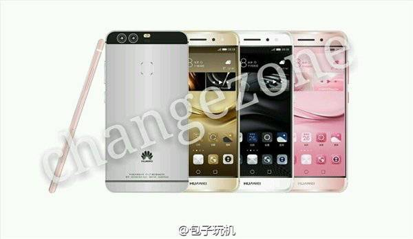 Huawei P9 Leaked Press Render KK