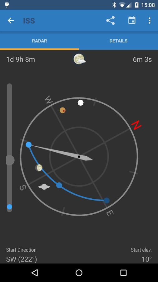 ISS Detector Satellite Tracker