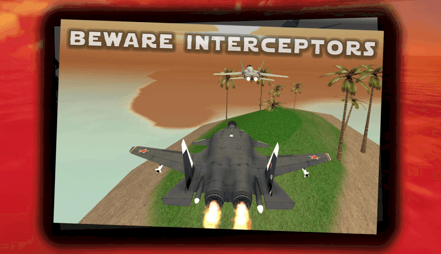 Jet Fighter Traffic Air Race jungle