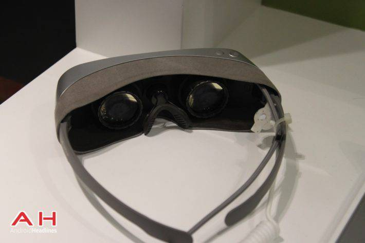 LG 360 VR Headset MWC 8
