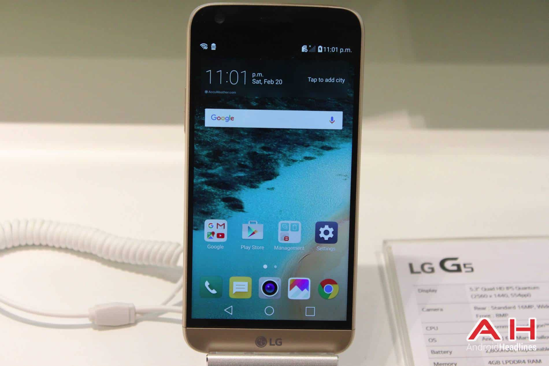 LG G5 Booth MWC AH 11