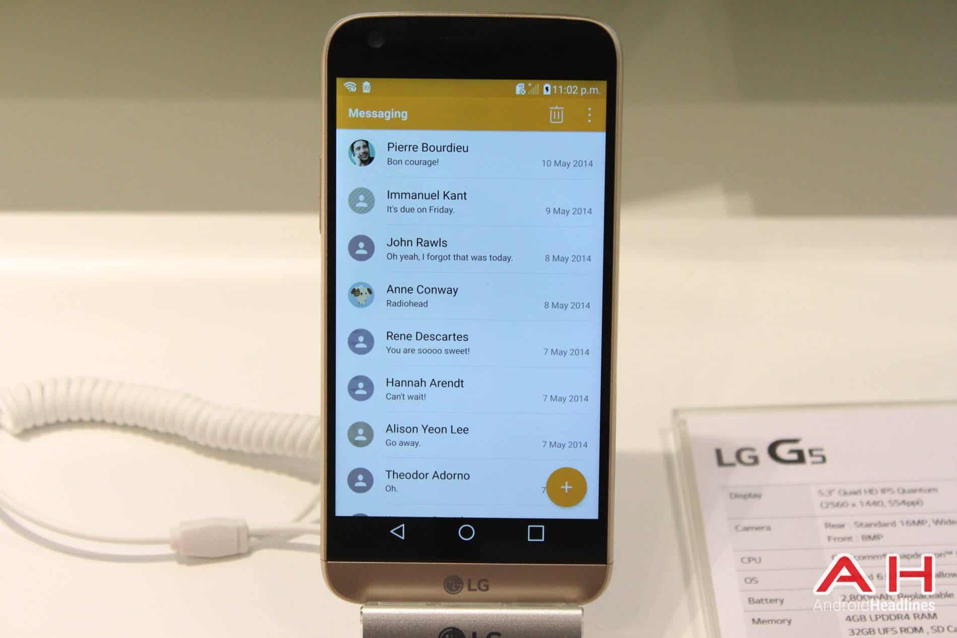 LG G5 Booth MWC AH 12