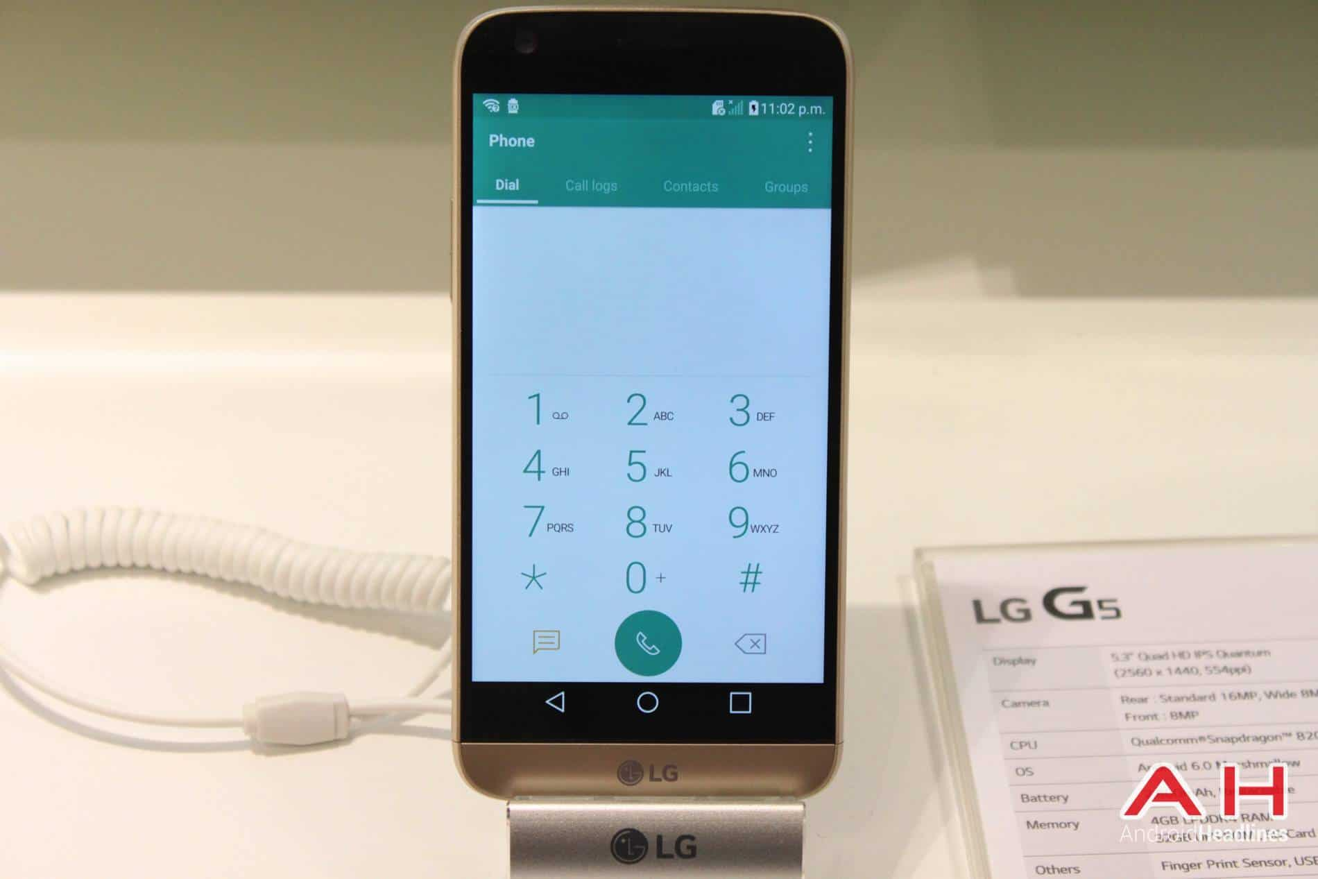 LG G5 Booth MWC AH 13