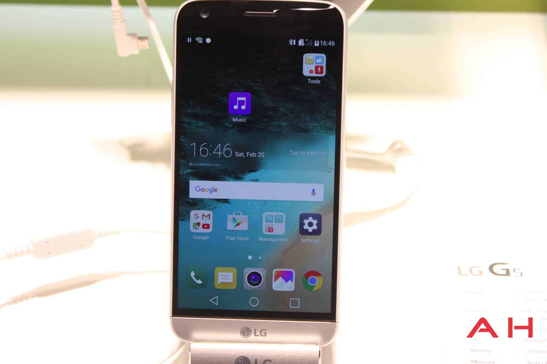 LG G5 Booth MWC AH 15