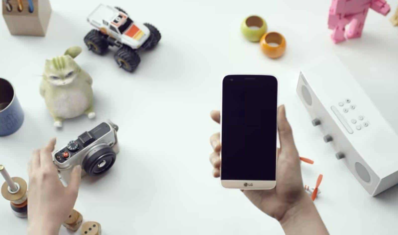 LG G5 Gold promo video