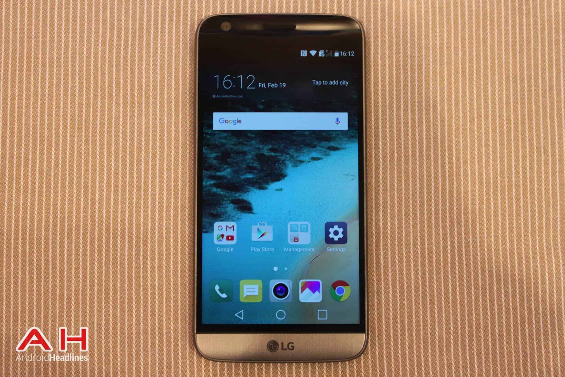 LG G5 Hands On MWC AH 17