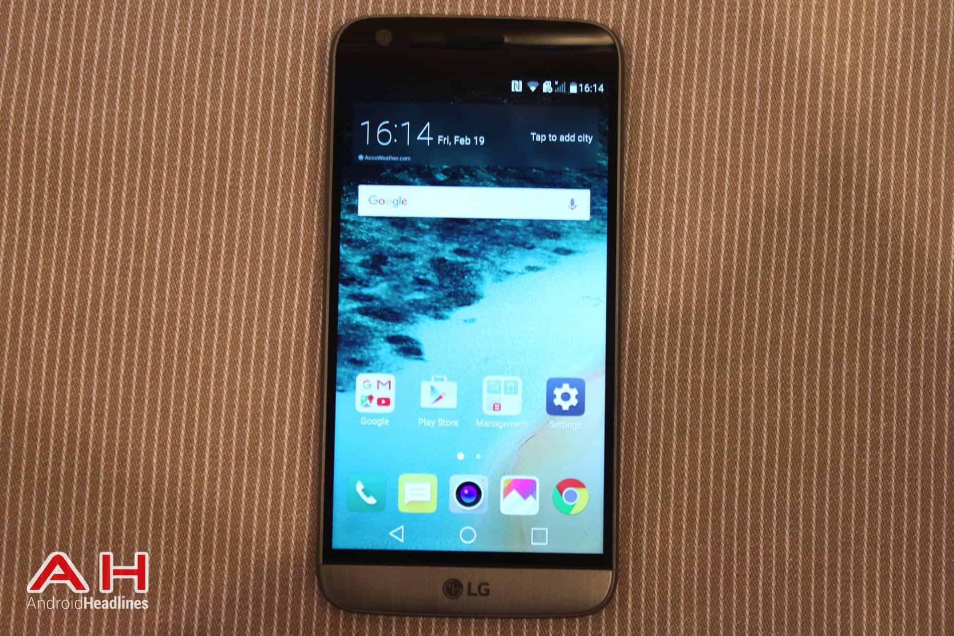 LG G5 Hands On MWC AH 19