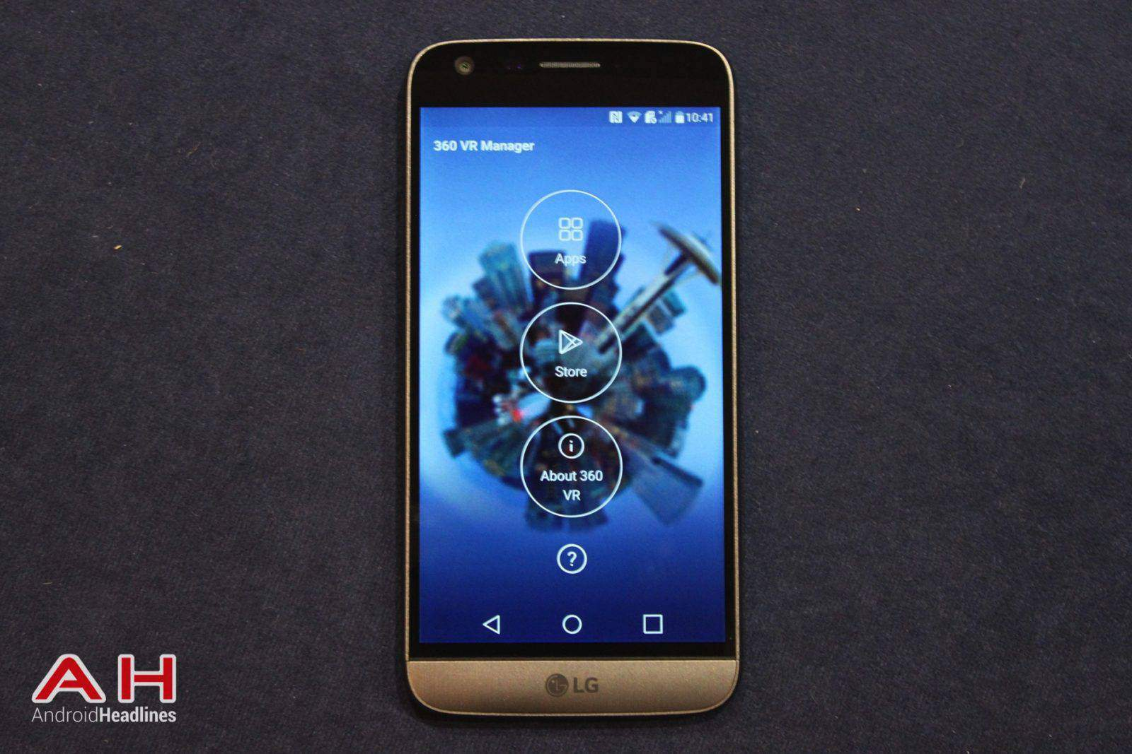 LG G5 Hands On MWC AH 21