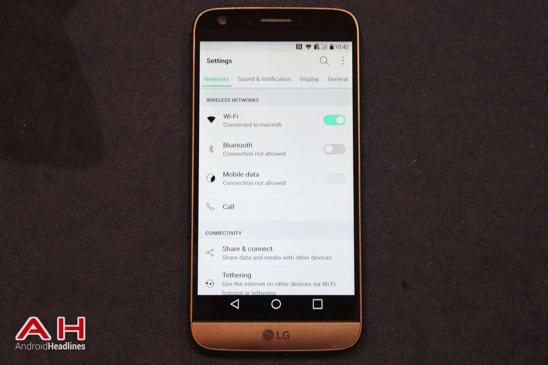 LG G5 Hands On MWC AH 22