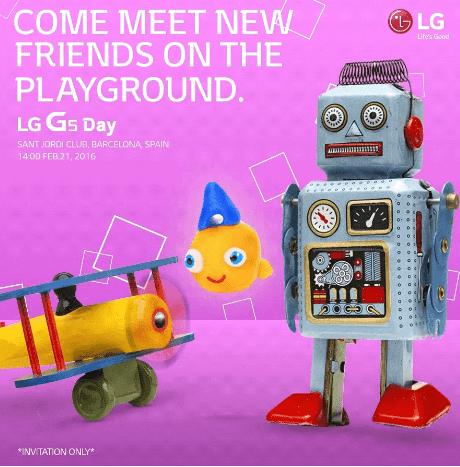 LG G5 day mwc