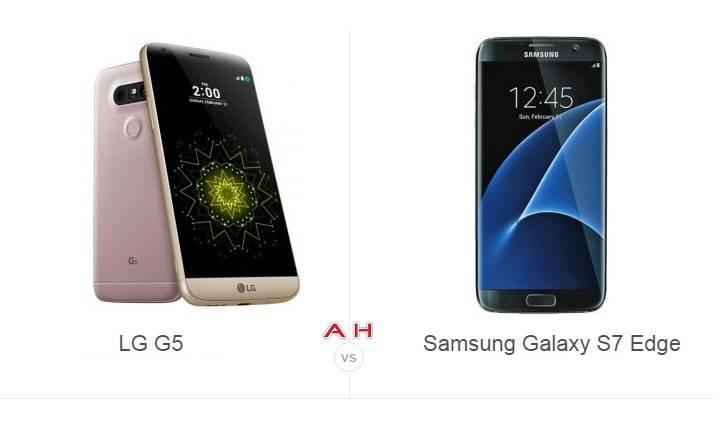 LG G5 vs Galaxy S7 Comparison 2