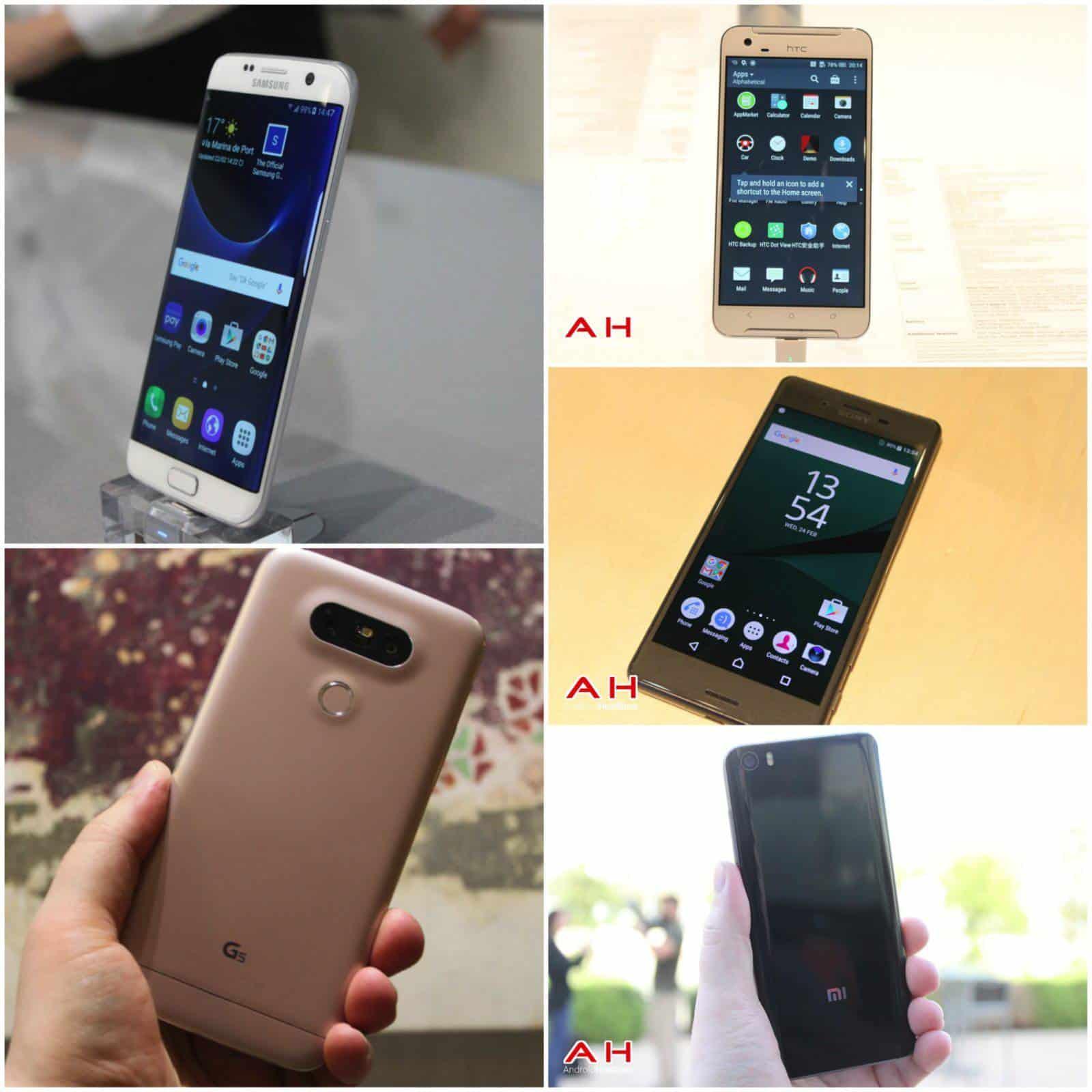 MWC Smartphones 2