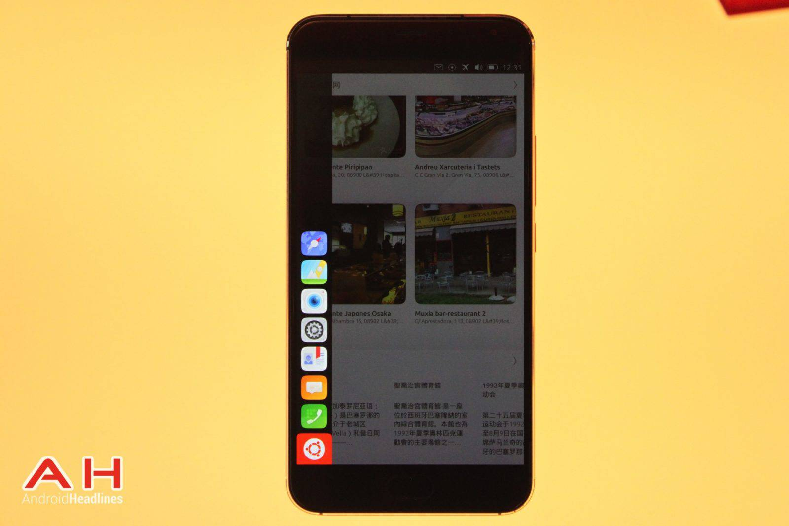 Meizu Pro 5 Ubuntu MWC AH 17