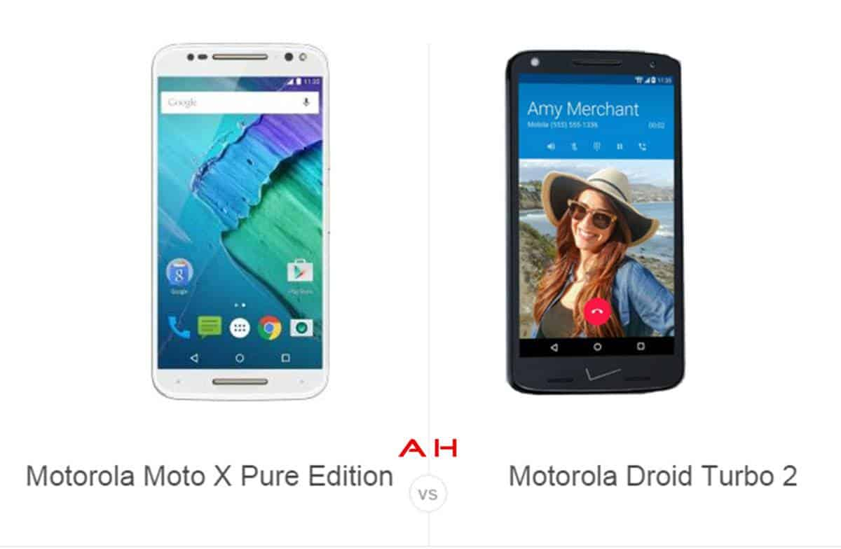 Moto X Pure Edition vs Droid Turbo 2 cam AH