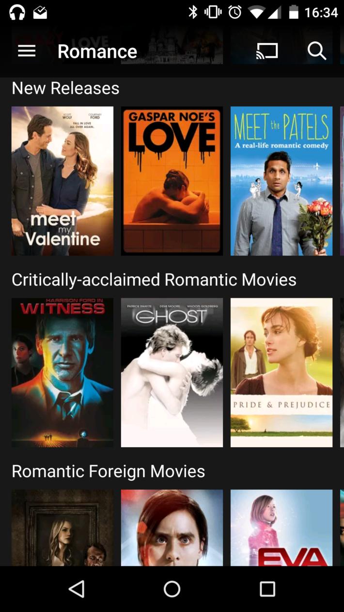 Netflix romance