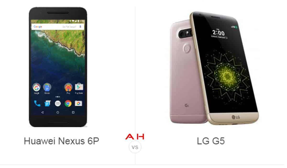 Nexus 6P vs LG G5 cam AH