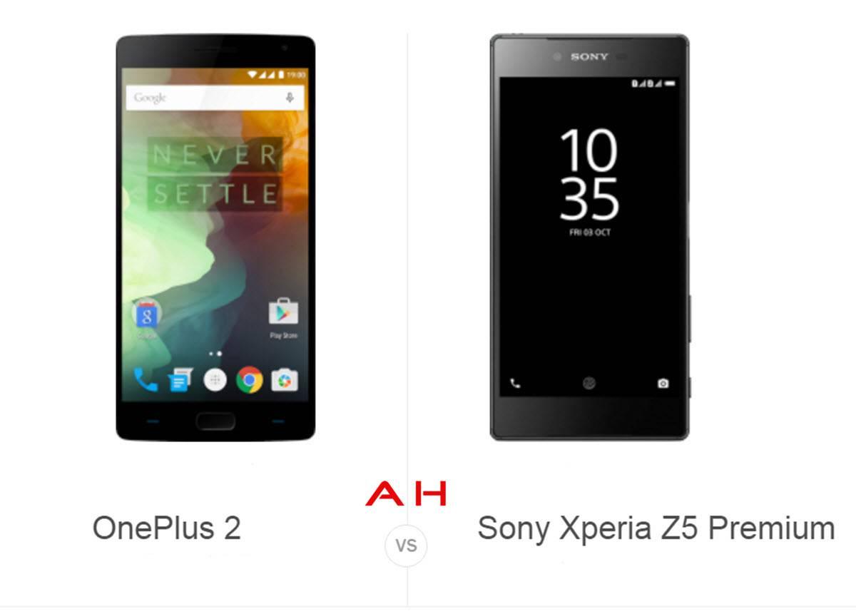 OnePlus 2 vs Xperia Z5 cam AH