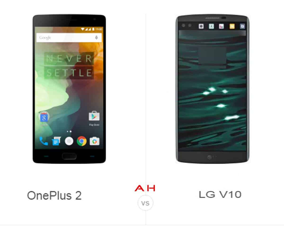 OnePlus Two vs LG V10 cam AH