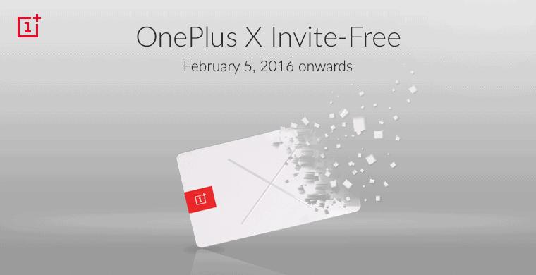 OnePlus X Invite Free India_2