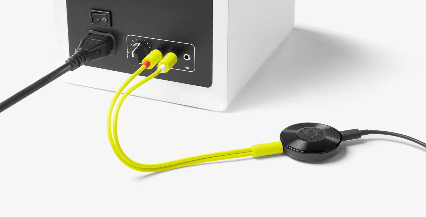 Google Store Now Selling Chromecast Audio RCA & Optical ...