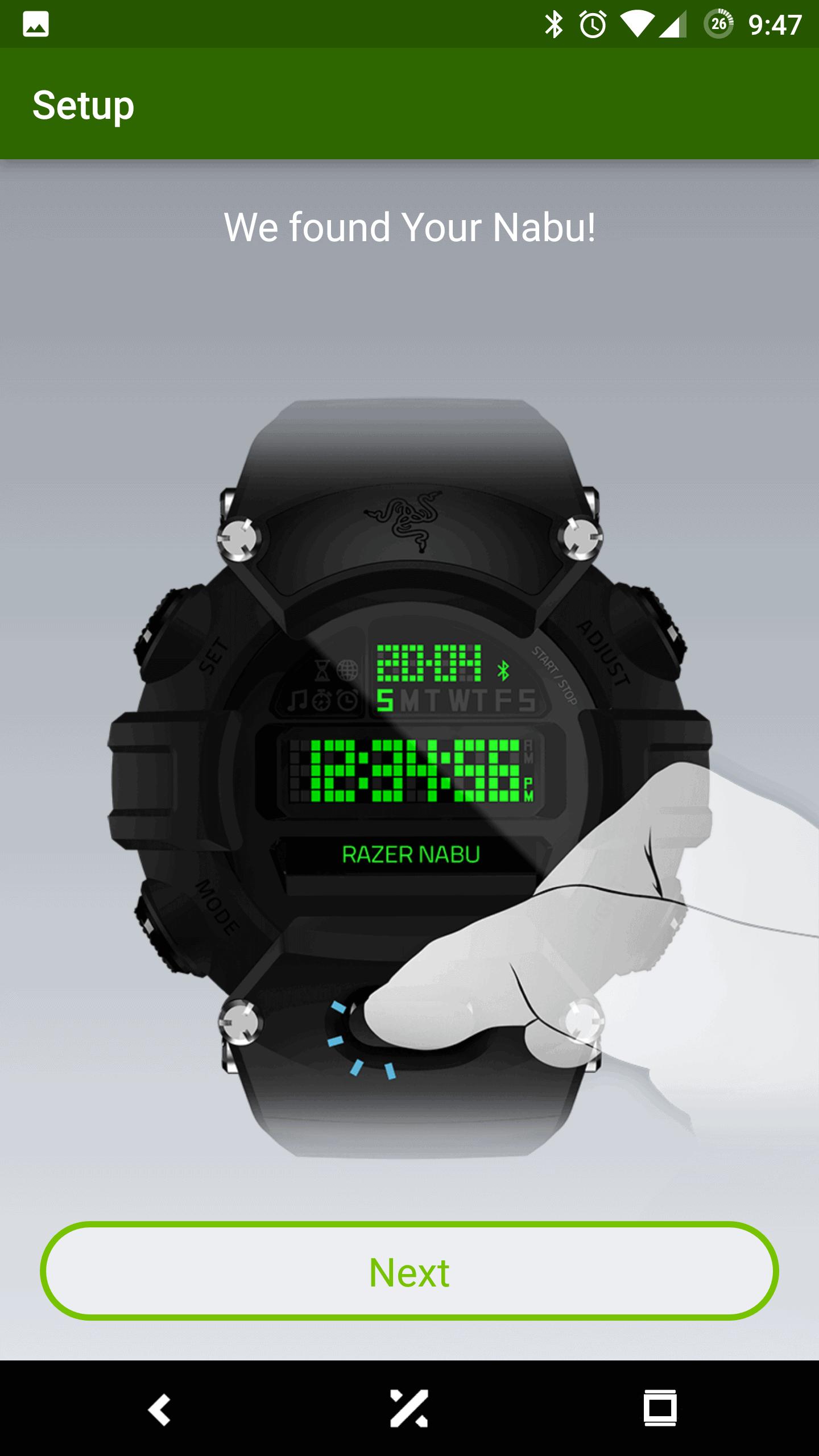 Razer Nabu Watch AH NS Screenshots setup 03