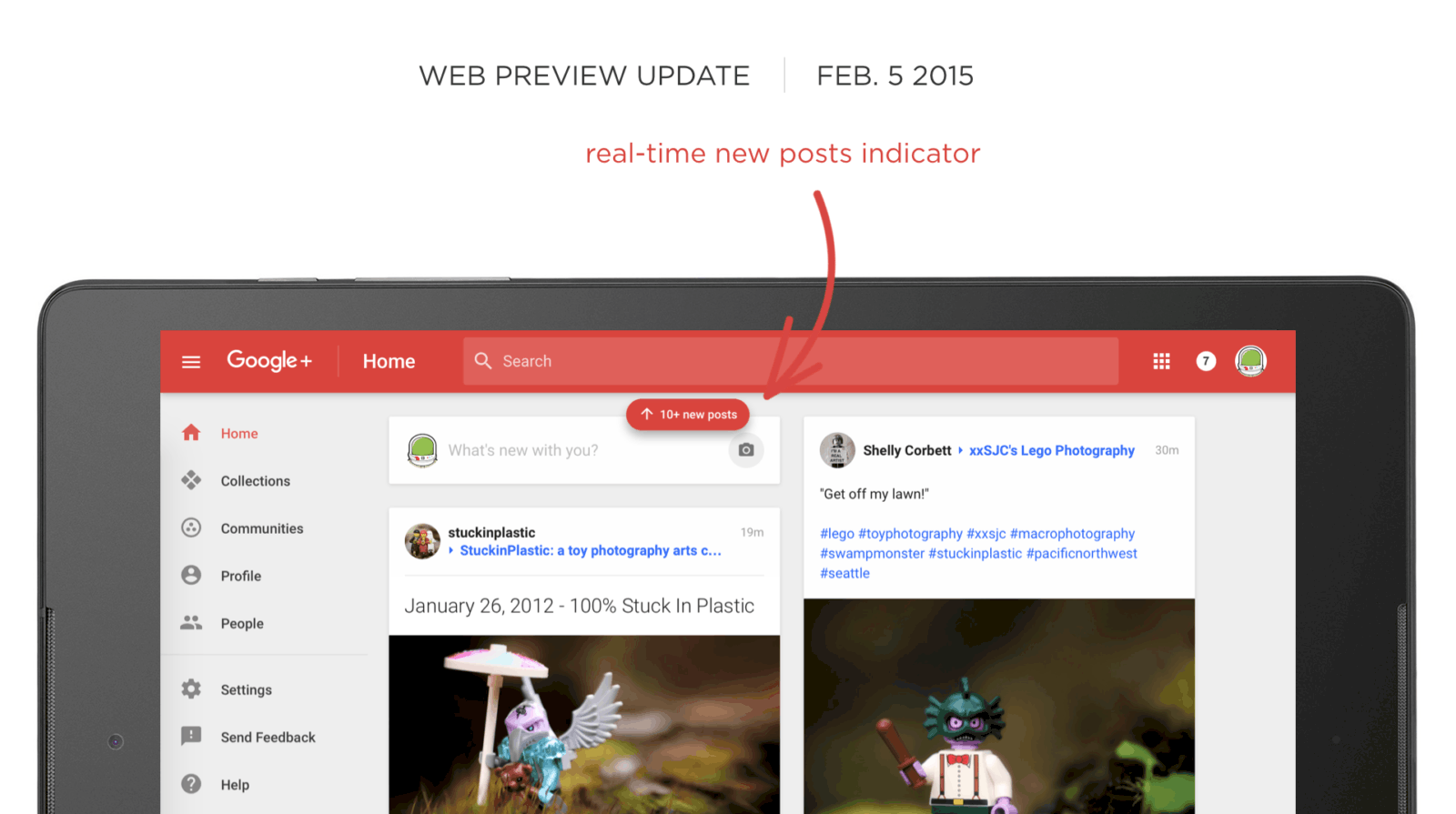 Google Plus On The Web Now Alerts You To New Posts In Real-Time ...