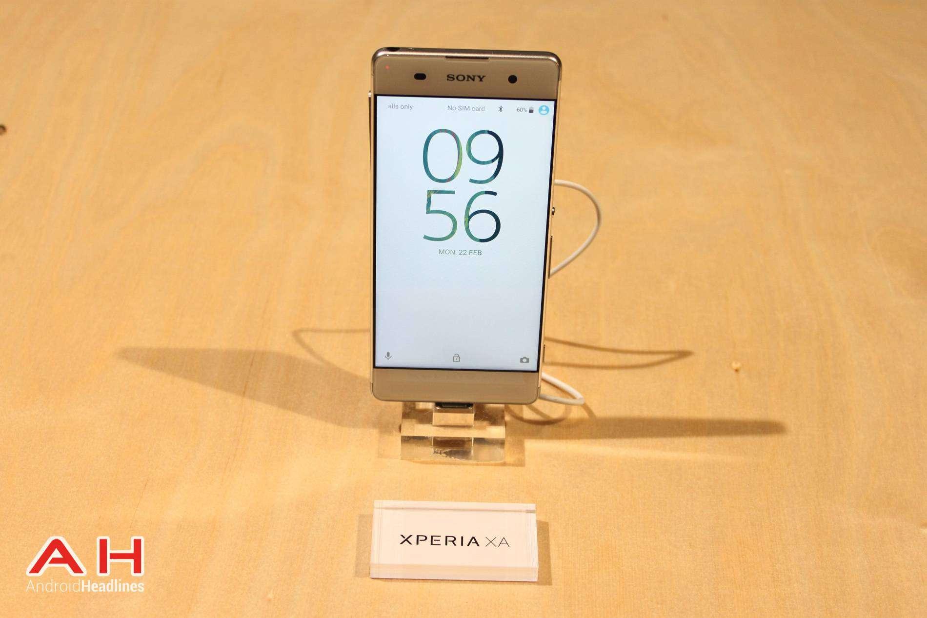 Sony Xperia XA Hands On MWC AH 1