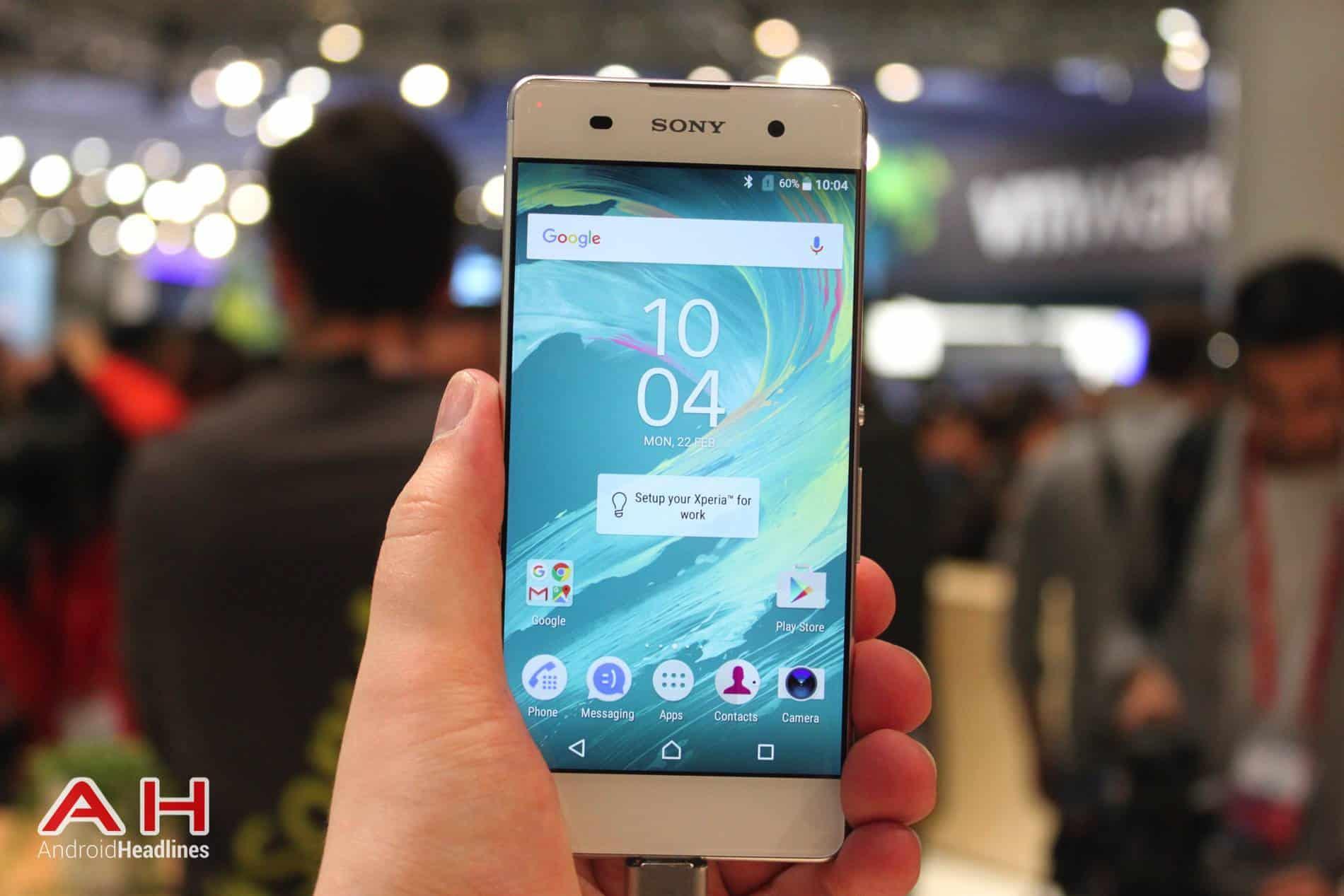 Sony Xperia XA Hands On MWC AH 16