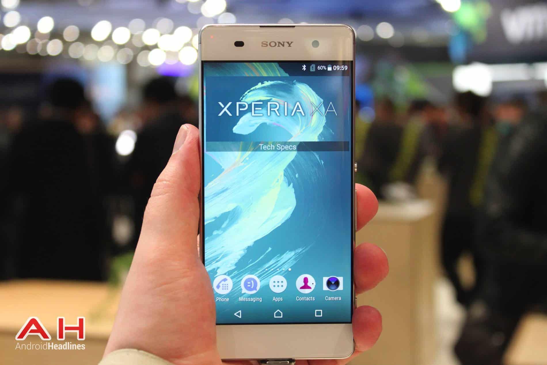 Sony Xperia XA Hands On MWC AH 6