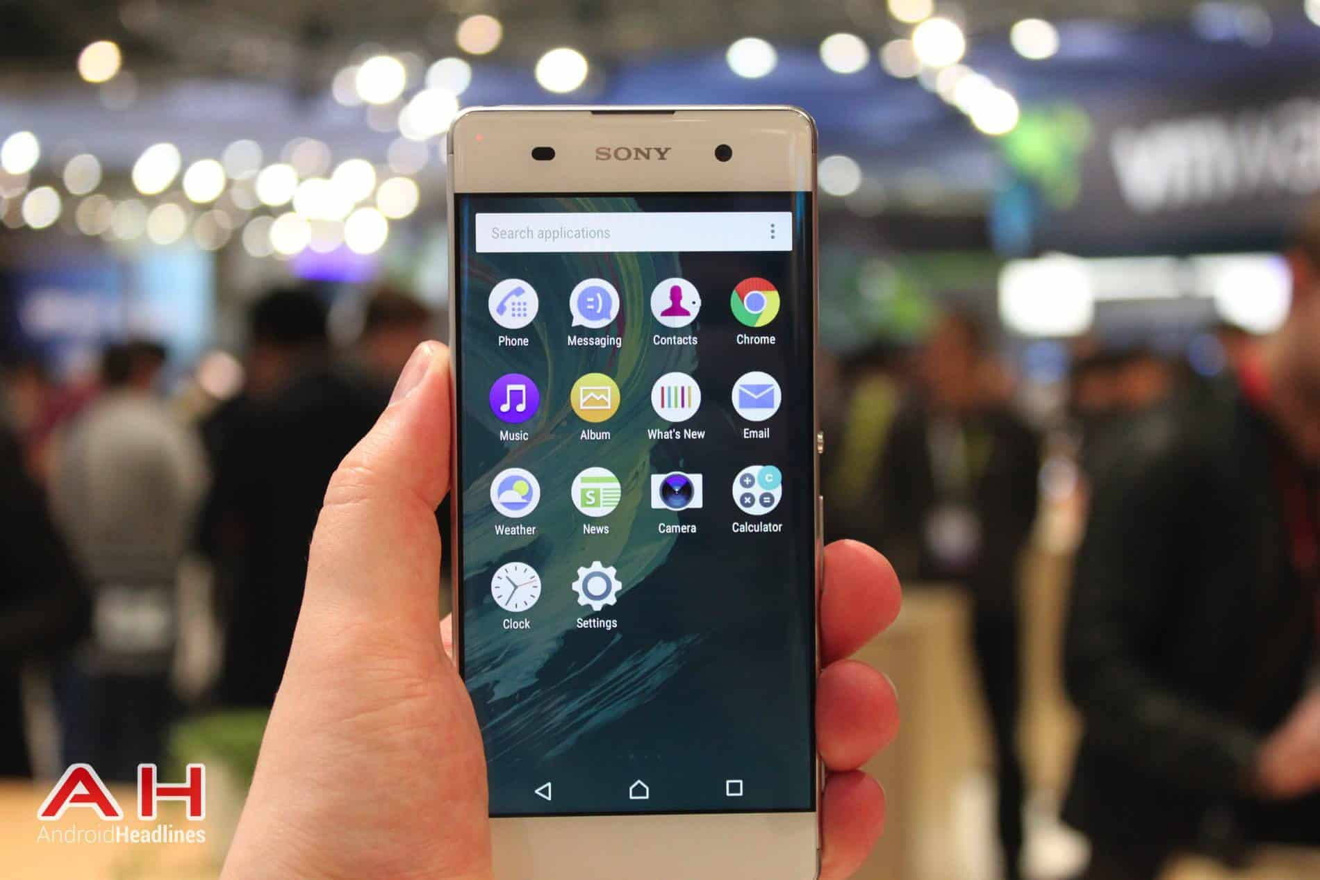 Sony Xperia XA Hands On MWC AH 7