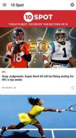 Sports Illustrated App Google Play Screenshot 1