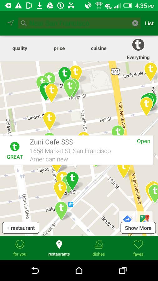 Tasteful App Screenshot 02