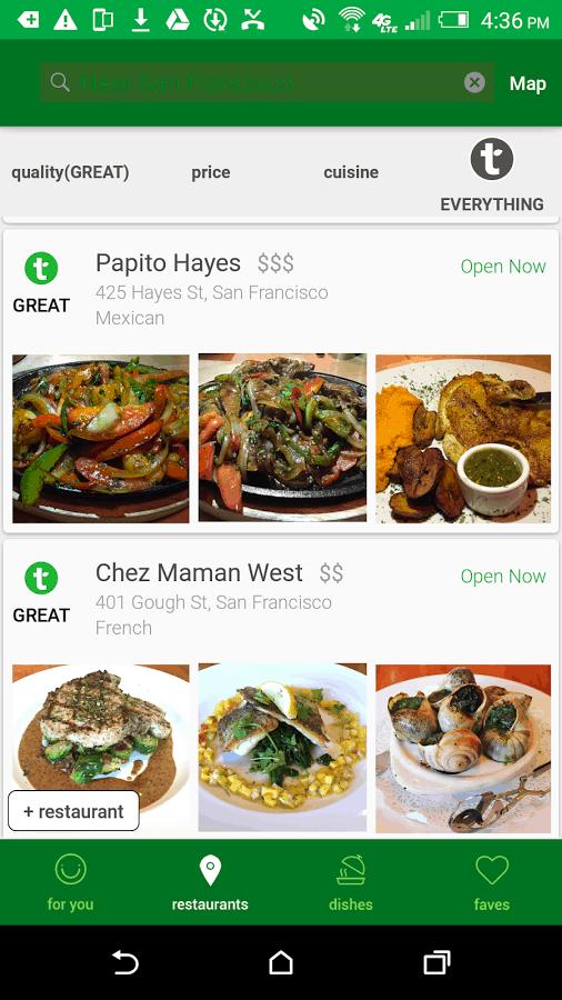Tasteful App Screenshot 04