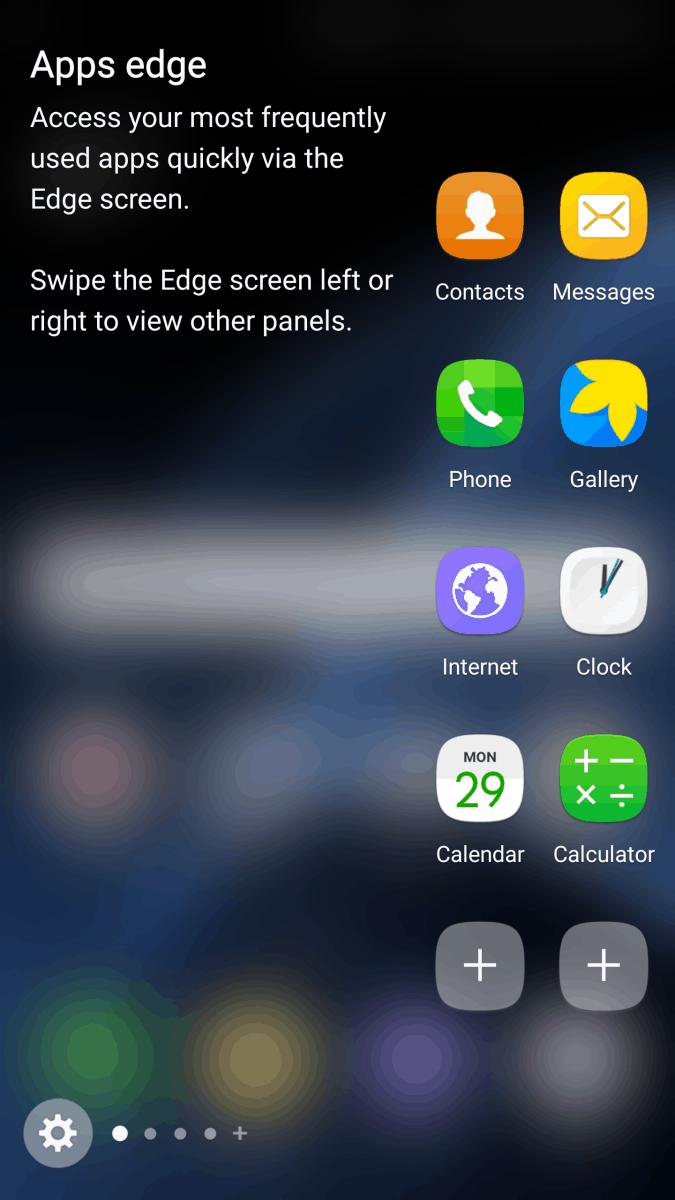 TouchWiz On Galaxy S7 Edge 3
