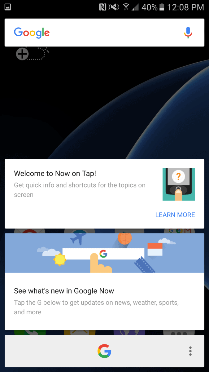 TouchWiz On Galaxy S7 Edge 6