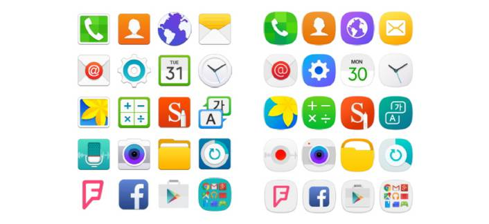 TouchWiz Squircle Icons