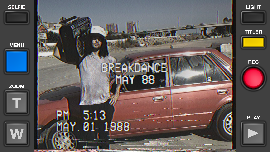 VHS Camcorder App Screen 01