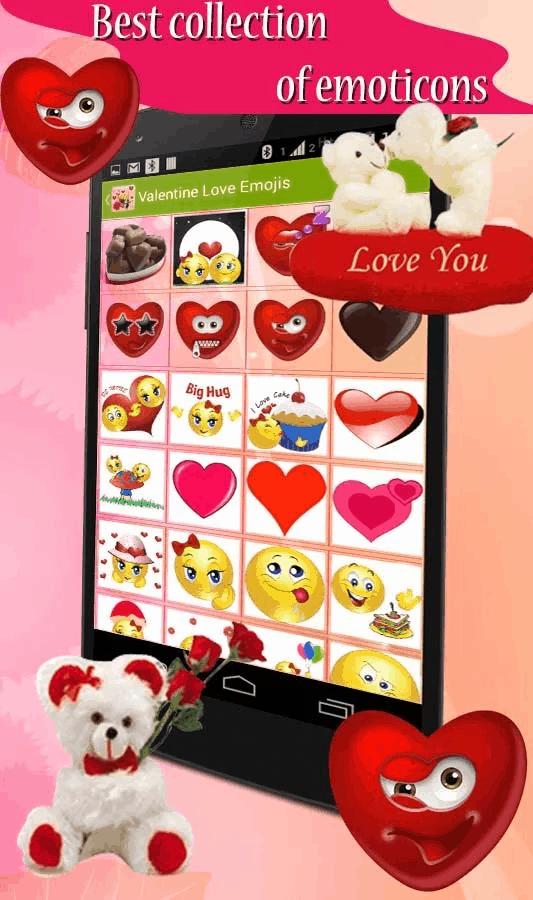 Valentine Love Emojis