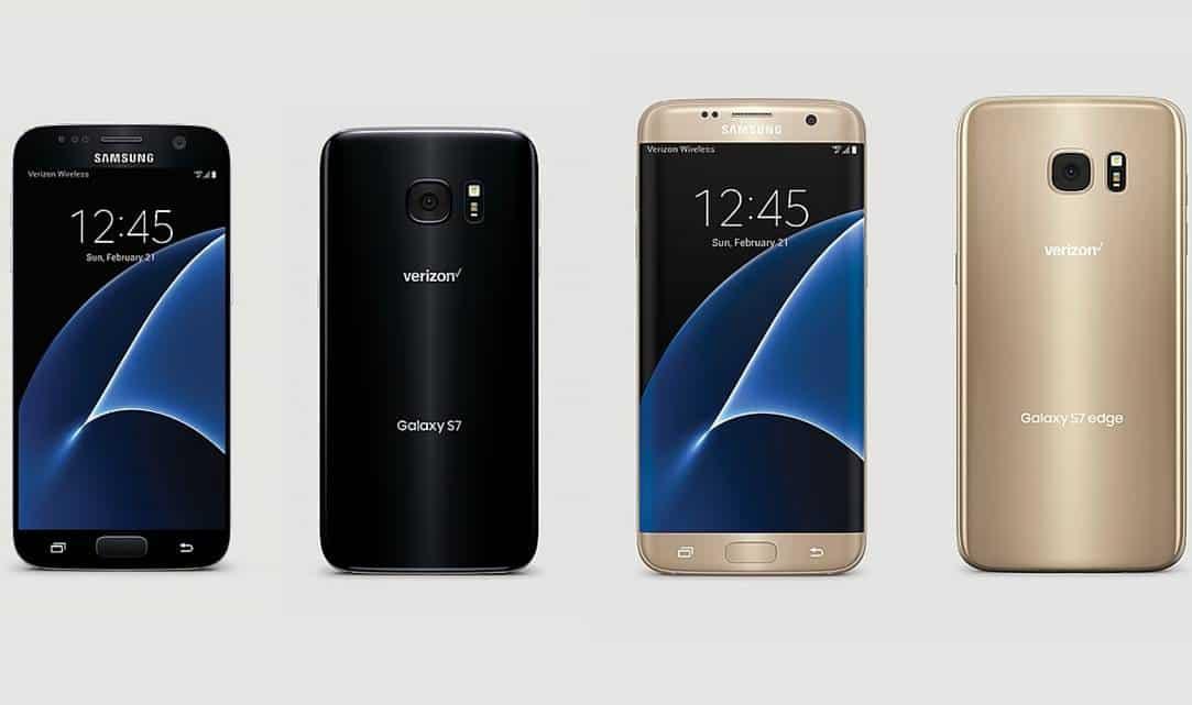 Verizon Galaxy S7 & Edge